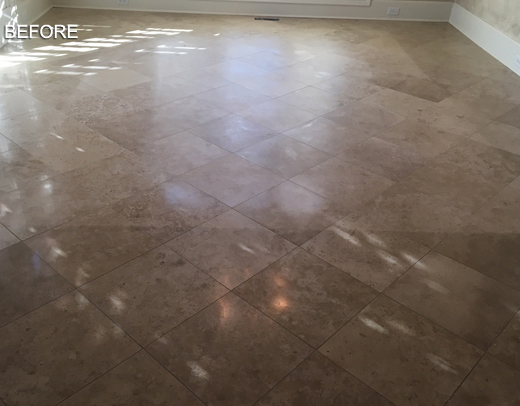 Travertine Floor Red And Polished
