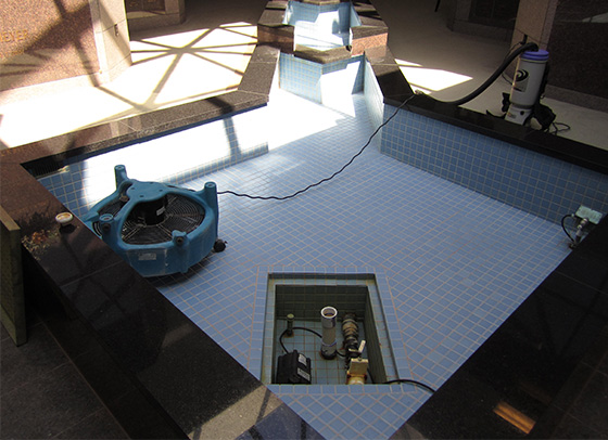 BEFORE-Fountain-Tile-Grout-Cleaning-Restoration